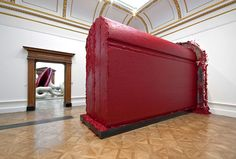 Anish Kapoor - Svayambh, wax and oil-based paint, dimensions variable See also: Sky Mirror Street Installation, Anish Kapoor, Art Antique, Royal Academy Of Arts, Design Museum, Conceptual Art, Book Art, Architecture, Inspiration