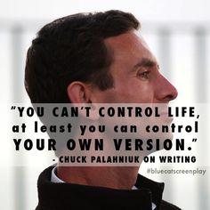 Chuck Palahniuk on writing --  www.bluecatscreenplay.com