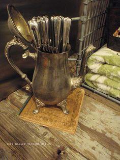 Round Barn Potting Company: just a peek ~ home tour. LM Brand