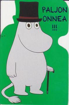 Moominpappa Birthday Card -- Muumipappa Syntymäpäiväkortti #Moomin