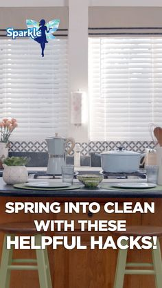 Messy kitchen, no more! Hack your way to clean countertops with these decluttering DIYs. by Sparkle Diy Home Cleaning, Household Cleaning Tips, Cleaning Recipes, House Cleaning Tips, Diy Cleaning Products, Cleaning Solutions, Spring Cleaning, Cleaning Hacks, Diy Cleaners