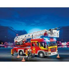 Feuerwehr Fahrzeug mit Drehleiter von Playmobil