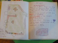 Waldorf ~ 4th grade ~ Local Geography ~ Mapping ~ main lesson book