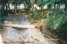 How to build dry river bed