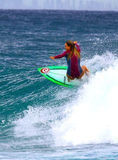 Alana Blanchard Surf Girls, Beach Girls, Beach Bum, Female Surfers, Pro Surfers, Paddle Board Surfing, Professional Surfers, Alana Blanchard, Soul Surfer