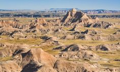 Places to Visit: Badlands National Park, South Dakota Badlands National Park, Us National Parks, Yellowstone Nationalpark, Places To Travel, Places To Visit, Cody Wyoming, Cross Country Trip, Oregon Trail, Road Trip Usa