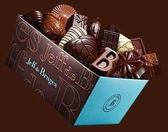 Jeff de Bruges. 112-114 rue Mouffetard Paris 5e.. Belgian chocolate chain with a few other stores in Paris. Paris ~ London ~ Dubai