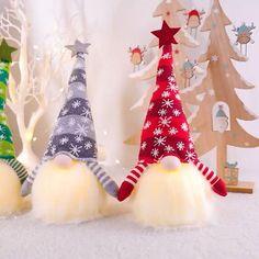 Christmas Gnome, Handmade Christmas, Christmas Lights, Christmas Stockings, Christmas Holidays, Christmas Crafts, Christmas Ornaments, Christmas Ideas, Outdoor Christmas Decorations