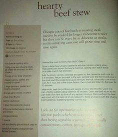 Hearty Beef Stew :)
