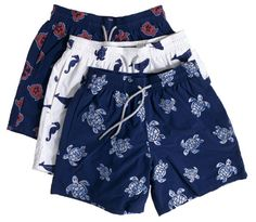 VIP Vilebrequin style - embroidered swim suits