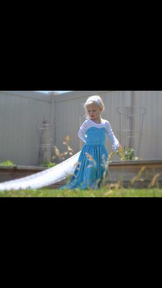 Elsa dress. Pattern by ckc
