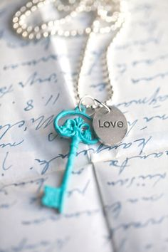 Turquoise Key . Love