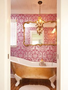 That tub...  Room Transformations from the Property Brothers | Property Brothers | HGTV