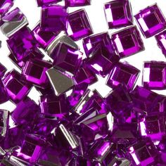 Zink Color Nail Art Acrylic Rhinestone Deep Purple Square Embellishment >>> More info could be found at the image url. (This is an affiliate link) Christmas Nail Stickers, Christmas Nails, Deep Purple, Square, Nail Colors, Embellishments, Amethyst, Acrylic Art, Nail Art