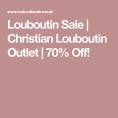 Louboutin Sale | Christian Louboutin Outlet | 70% Off!