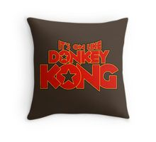 It's on like Donkey Kong! V2 Throw Pillow