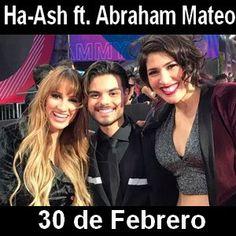 Acordes D Canciones: Ha-Ash - 30 de Febrero ft. Abraham Mateo
