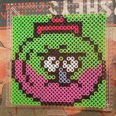Benson Regular Show perler beads by teenagemutantnerdyguy