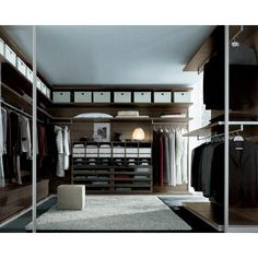 Contemporary Closet System from Poliform USA