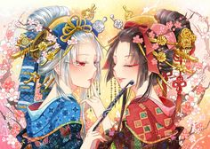 4448512i (620×443) Pretty Anime Girl, Beautiful Anime Girl, Anime Girl Kimono, Manga Anime, Anime Art, Japanese Art Modern, Chinese Drawings, Writing Fantasy, Manga Games