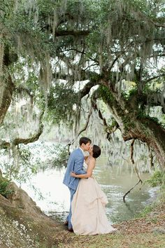 36 Adorable Wedding Kisses That'll Have You Feeling The Love #refinery29 http://www.refinery29.com/cute-wedding-kisses#slide24