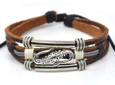 Adjustable Bracelet Cuff made of  Leather  by jewelrybraceletcuff, $7.50