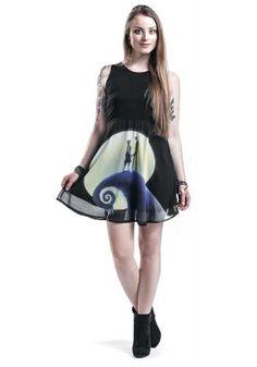 Romantic Dress - Medium-lengte jurk van The Nightmare Before Christmas