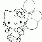 Hello Kitty molde gratis