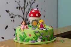 #Ponque de #Hadas.  www.mocka.co  #mocka #pasteleria #cakeshop #bakery #tortatematica #tortainfantil #caketopper #fairy #torta #pastel #cake