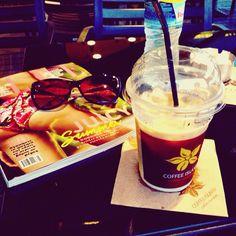 Love the summer 🌞🌞 #summer#relaxncoffee#coffee