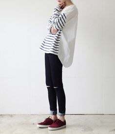 If femenine is not your style, these outfits are what you were looking for Estilo Fashion, Fashion Mode, Tomboy Fashion, Look Fashion, Korean Fashion, Fashion Outfits, Womens Fashion, Tomboy Style, Queer Fashion