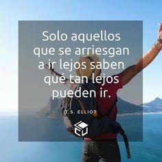 Arriesgate!  #LaCuadraU #FrasesLCU #Frases