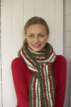 e38440c5d5f Christmas Scarf Christmas Crochet Patterns