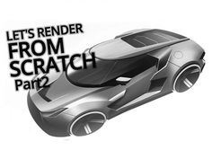 Car Rendering from scratch  Video by Yasid Design