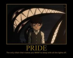 Pride was terrifying.