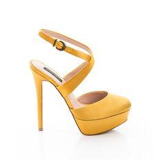 Sadie - ShoeMint Fab Shoes, Crazy Shoes, Pretty Shoes, Beautiful Shoes, Cute Shoes, Me Too Shoes, Dream Shoes, Shoes Heels, Yellow Heels
