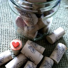 Recycled Crafts: How to Make Rubber Stamps