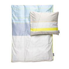 Hay - S&B Colour Block Kinderbettwäsche 70x100cm, gelb, Einzelabbildung