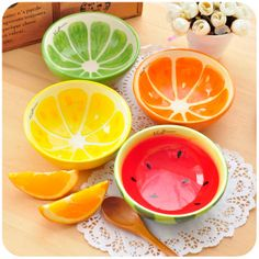 Glair hand-painted ceramic rice bowl fruit soup bowl