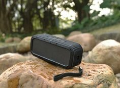 Divoom Voombox Outdoor is a rechargeable, water resistant Bluetooth speaker that has been specially designed to work even in rugged conditions, all the while delivering a 12-hour battery life as well as a powerful 15W of output power. | Coolest Gadgets