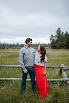 This Oregon couple is adorable during their engagement session: http://www.stylemepretty.com/oregon-weddings/2014/09/24/central-oregon-desert-engagement/ | Photography: Nakalan McKay - http://www.nakalanmckay.com/