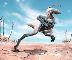 Pseudoraptor by Abiogenisis on DeviantArt