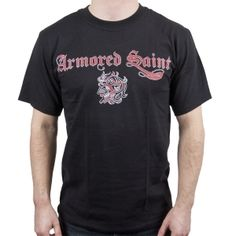 OFFICIAL ~ ARMORED SAINT Logo T-Shirt
