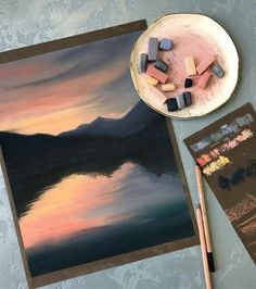 59 ideas beautiful art drawings inspiration artworks chalk pastels for 2019 Art Inspo, Painting Inspiration, Oil Pastel Art, Chalk Pastel Art, Pastel Artwork, Oil Pastel Paintings, Oil Pastel Drawings, Watercolor Paintings, Watercolor Sunset