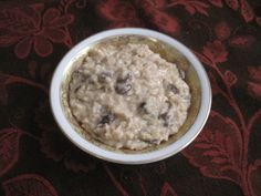 Rice Pudding: GF/CF and can be made egg-free