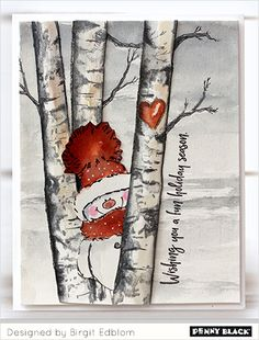 christmas paintings Beautiful Birches with Birgit Christmas Signs, Christmas Pictures, Christmas Art, Christmas Decorations, Christmas Ornaments, Christmas Tunes, Christmas Cookies, Painted Christmas Cards, Christmas Island