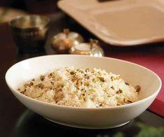 Basmati Rice Pilaf with Pistachios Recipe