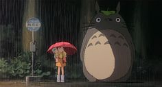 Il mio vicino Totoro di Hayao Miyazaki
