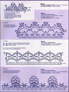 Crochê Gráfico: BICOS E BARRADOS