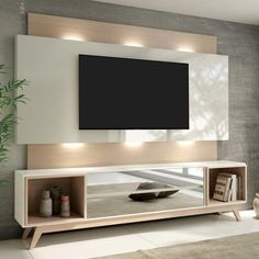 Compre Estante para TV 2 Gavetas Com Led Off White/Natural - Dalla Costa na Panorama Móveis. Room Design, Tv Wall Design, Tv Room Design, Modern Tv Room, Interior Design, Living Room Design Modern, Tv Stand Modern Design, Living Room Designs, Living Room Tv